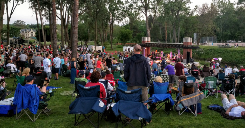 Milford Summer Concert Series LaFontaine Family Amphitheater