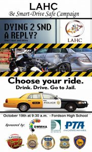 LAHC Be Smart-Drive Safe Campaign