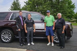 Michigan Open Presented by LaFontaine Cadillac, defending champion, Jeff Bronkema