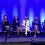 Kelley LaFontaine takes stage in LA for Women In Automotive Conference