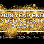 LaFontaine 2018 Year End Extended Sales Hours